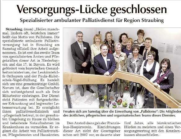 Pallidomo GmbH schließt Versorgungslücke